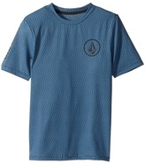 Volcom Distortion Short Sleeve Thrashguard Boy's Swimwear
