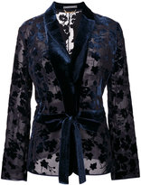 Alberta Ferretti embroidered blazer
