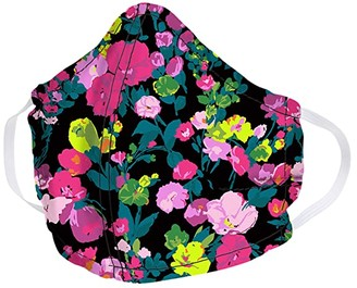 Vera Bradley Cotton Face Mask (Hearts Pink) Caps