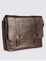 M&S Collection Casual Leather Messenger