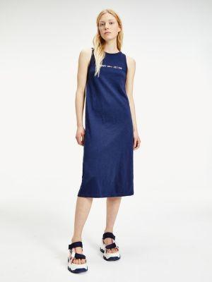 Tommy Hilfiger Sleeveless Logo Tank Dress