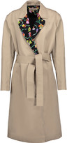Emilio Pucci Belted cotton-blend gabardine trench coat