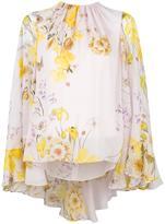 Giambattista Valli floral print blouse - women - Silk - 40
