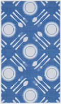 Asstd National Brand Cutlery Rectangular Rug