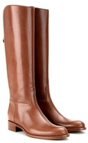 Loro Piana Wellington Leather Knee Boots