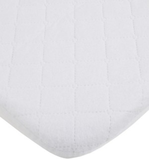 Carter's Water Resistant Quilted Mini Crib Fitted Mattress Pad Bedding
