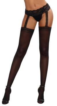 Dreamgirl Sheer Suspender Pantyhose