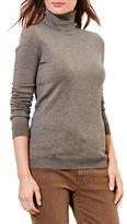 Lauren Ralph Lauren Silk-Cotton Turtleneck Sweater