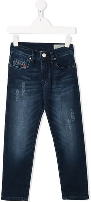 Diesel Mharky distressed jeans