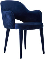 Pols Potten Velvet Arms Chair