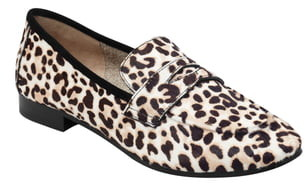Marc Fisher Chang Genuine Calf Hair Penny Loafer