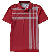 Bobby Jones XH20 Robertson Printed Oversized Plaid Short-Sleeve Polo