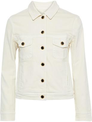 KHAITE Laura Button-detailed Denim Jacket