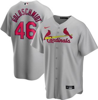 Nike Men's Paul Goldschmidt Gray St. Louis Cardinals Road 2020 Replica Player Jersey