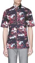 Lanvin Island print short sleeve shirt