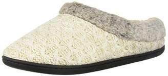 Dearfoams Women's DF Sweater Knit Clog Slipper