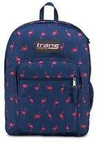 """JanSport Trans by ; 17"""" SuperMax Backpack - Flamingo Icon"""