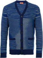 Missoni striped cardigan - men - Silk/Cashmere - 50