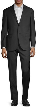 Corneliani Academy Standard-Fit Herringbone Suit