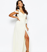 Forever Unique Sweetheart Maxi Dress With Cold Shoulder