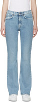 Acne Studios Indigo Frayed Lita Jeans