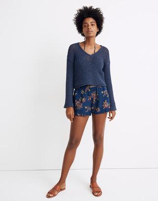 Madewell x Warm Crocheted Sweater
