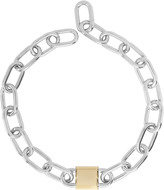 Alexander Wang Double Lock Link Chain Necklace