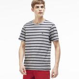 Lacoste Men's Stripe Crewneck T-Shirt