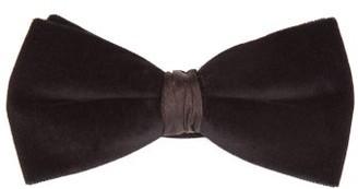 Neil Barrett New Berkley Silk-velvet Bow Tie - Mens - Black