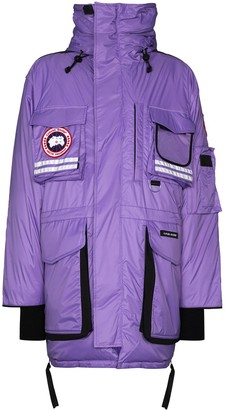 Canada Goose x Browns 50 Snow Mantra hooded ski jacket
