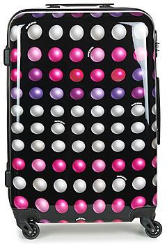 David Jones FREDEGAR 57L women's Hard Suitcase in Multicolour