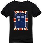 Ccttdiy Men's Doctor Who Tardis T-shirts, Cute Doctor Who Tardis Tee Shirts