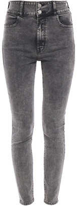 J Brand Saturday High-rise Skinny Jeans