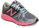 New Balance Girl's 200 Electric Rainbow Athletic Shoe
