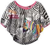 Desigual Girls 7-16 Zebra Print Top 7-14