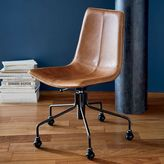Slope Leather Office Chair