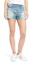 AG Jeans Women's Sadie High Waist Cutoff Denim Shorts