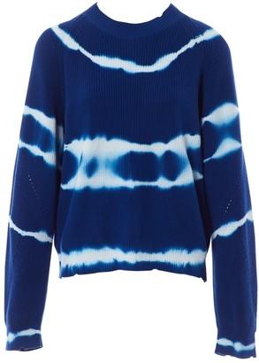 MSGM \N Blue Cotton Knitwear