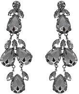 AJ Fashion Jewellery Distinctive tone Crystal Post Drop earrings