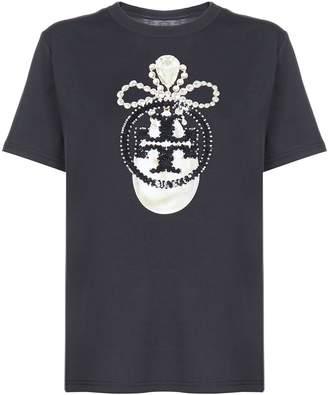Tory Burch Logo Short Sleeve T-shirt