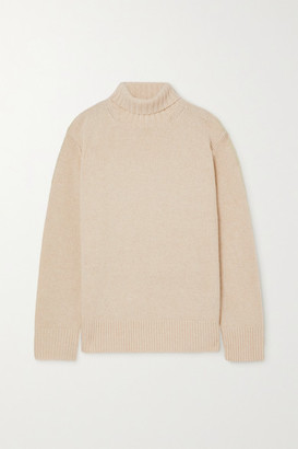 Joseph Oversized Cashmere Turtleneck Sweater - Ivory