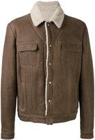 Salvatore Santoro chest pockets leather jacket
