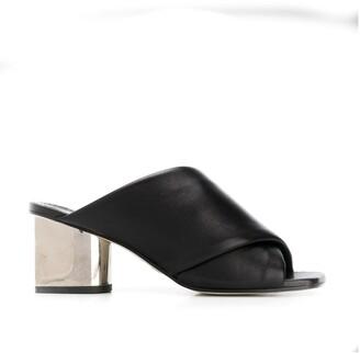 Proenza Schouler Metallic Heel Sandals