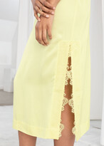 Thumbnail for your product : And other stories Satin Midi Slip Dress