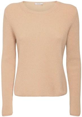 Max Mara Rib Knit Cashmere & Wool Sweater