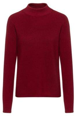 HUGO Relaxed-fit sweater in extra-fine merino