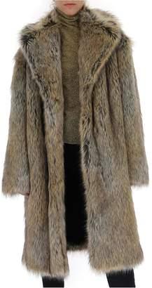 Philosophy di Lorenzo Serafini Maxi Faux-Fur Coat