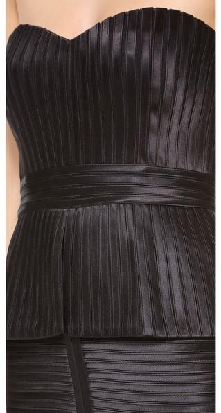 BCBGMAXAZRIA Karina Strapless Dress