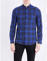 Ps By Paul Smith Tailored-fit Check-print Cotton Shirt