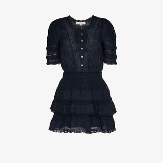 LoveShackFancy Quincy embroidered dress